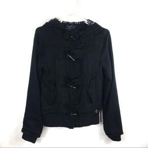 3/$25 Black Jacket Sz S bM